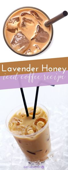 Theres nothing better than an iced latte in the scorching heat of summer. In the winter, we love warm peppermint mochas and pumpkin spice lattes, but thats a little too rich for the heat. This time of year, were opting for a Lavender Honey Iced Latte.