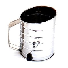 Norpro 3-Cup Stainless Steel Rotary Hand Crank Flour Sift... https://www.amazon.com/dp/B000HJ99UG/ref=cm_sw_r_pi_awdb_x_vIRQybP5E7J98