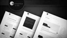 2946 Free Layered Psds Of Our Elegance Wordpress Theme