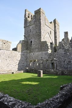 Fore Abbey - The Abbey Built on a bog (10),  Co. Westmeath, Ireland by Fergal of Claddagh, via Flickr