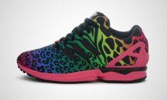 Prezzi Uomo Scarpe - Adidas ZX Flux di Italia Independent multicolor Leopard Zebra nero