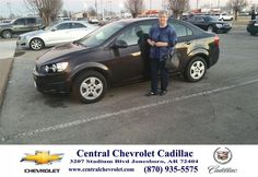 Congratulations to Linda Atnip on your #Chevrolet #Sonic purchase from Todd Wells at Central Chevrolet Cadillac! #NewCar