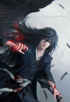 Madara Uchiha ) the legendary ninja . Naruto Uzumaki, Anime Naruto, Art Naruto, Art Manga, Manga Anime, Akatsuki, Foto Madara, Naruto Mobile, Fantasy Characters