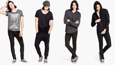 Miles McMillan & Sebastian Sauve Rock H&M Divided's July Styles