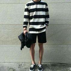 130 stylish and trendy summer men fashion ideas page 47 Korean Fashion Men, Korean Street Fashion, Urban Fashion, Boy Fashion, Mens Fashion, Fashion Outfits, Fashion Ideas, Fashion Styles, Korean Outfits