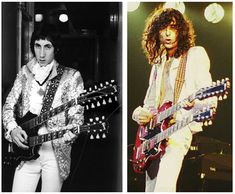 Pete Townshend vs. Led Zeppelin – Both bands had the best drummers in the world (Keith Moon & John Bonham), both bands had arguably the best lead guitarist of the time and both Pete and Jimmy Page played a double neck Gibson SG.16