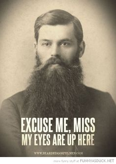 #Beard humor                                                                                                                                                                                 More