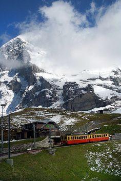 Climbing the Jungfraujoch - Lauterbrunnen, Switzerland