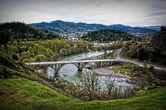 But this will always be home sweet home♥ This pic almost makes me homesick :( Hometown of Myrtle Creek, Oregon.