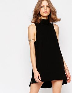 Free People Goldie Tunic Dress In Black at asos.com 72e105d8db6
