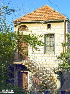 What do you think of this small house in Bayt Chabeb? شو رأيكن بهالبيت الصغير ببيت شباب؟ Photo by Joyce Aways #Lebanon