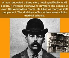 Watched a documentary on this guy. Always heard about Jack the Ripper, but why not him???