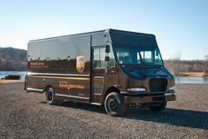 UPS has previously deployed 20 delivery trucks with hydraulic hybrid drivetrains by Parker Hannifin in Atlanta Ups Delivery, Parcel Delivery, Package Delivery, Us Postal Service, United Parcel Service, Step Van, Dump Trucks