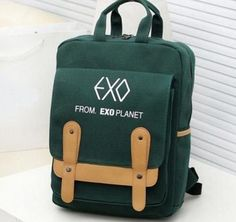 Men's Bags Cheap Sale Exo Korean Version Baekhyun Backpack Pu School Bag Floral Flower Bag Personality Small Backpack Women Backpack Leather Backpack Reliable Performance Luggage & Bags