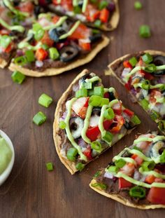 Whip up a Black Bean + Veggie Mexican Pizza for dinner.