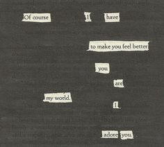 blackout poetry is my fave Blackout Poetry, The Words, Pretty Words, Beautiful Words, Beautiful Poetry, Beautiful Soul, Poem Quotes, Life Quotes, Daily Quotes