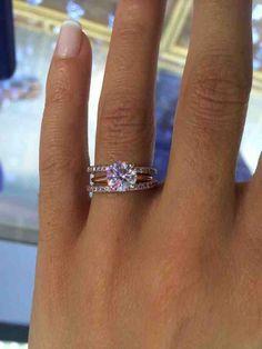 2 Carat Asscher Cut Diamond Engagement Rings