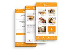 The Summit   A Mobile Breakfast App on Behance