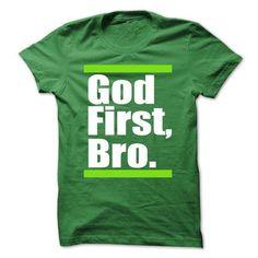 God first bro. - #graduation gift #couple gift. LIMITED AVAILABILITY => https://www.sunfrog.com/Faith/God-first-bro-64473932-Guys.html?68278
