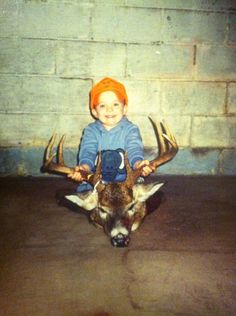 Back in the day with my dads buck.