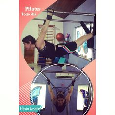 Flavia Assaife trainning Pilates