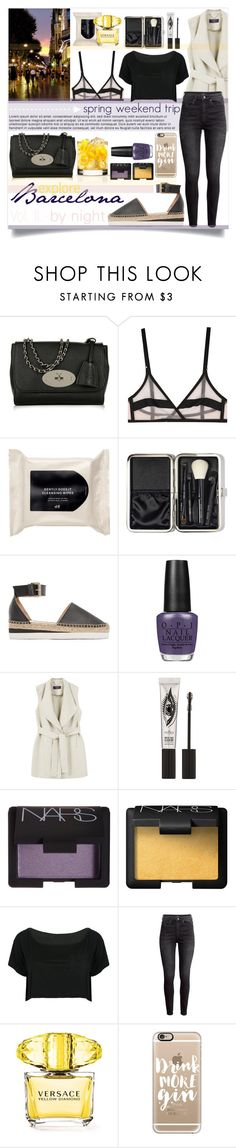 """""""Spring Weekend Trip to Barcelona (Vol.II)"""" by sophie-martina ❤ liked on Polyvore featuring Mulberry, Yasmine eslami, H&M, Bobbi Brown Cosmetics, See by Chloé, OPI, Violeta by Mango, Eyeko, NARS Cosmetics and WithChic"""