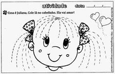Atividades Prontas de Coordenação Motora - Tarefas Para Caderno Sight Word Worksheets, Tracing Worksheets, Preschool Worksheets, Motor Skills Activities, Writing Activities, Fine Motor Skills, Spanish Activities, Family Theme, Art N Craft
