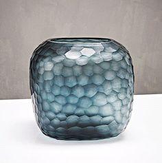 GUAXS Vase SOMBA L oceanblue/indigo – net-de-vivre.de Shop