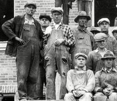Construction in 1929. Photo stolen from Mr. Stewart of Vintage Haberdashers