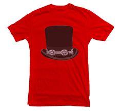 Slash Hat Guns N Roses T-shirt Tophat Music by DickyTickerWales