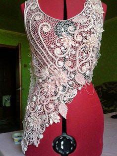 "So in love with this! Irish crochet &: Марина Шеина ""Энигма"""