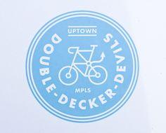 Artcrank Minneapolis—Bike Logos Galore by Allan Peter #seal #mark #logo