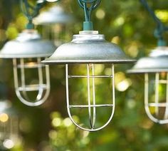 The Frosted Gardner: Inspiration - Outdoor Lighting
