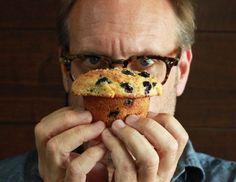 Alton Brown's Blueberry Muffins Recipe
