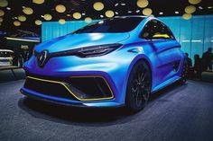 2017 Renault Zoe E-Sport Concept  #2017MY #Renault #Zoe #EV #Segment_A #French_brands #Geneva_2017