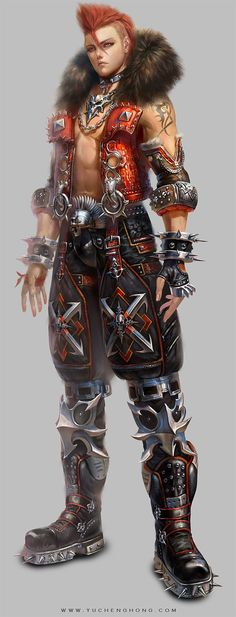 """Character Design by Yu Cheng Hong """"Here are avatar character design and costume I done for a game projects in early 2012 (January~March) and finally this project was canceled due to funding and technical issue."""" #PurelyInspiration #yuchenghong"""
