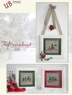 Art.Nr.763 - Beerenherz im Winter Tief verschneit - UB DESIGN