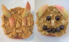 Foodie Fun for Kids: Scary Apple Faces