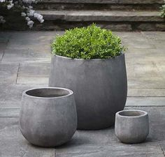 Campania International Urban Deck Planter - Set of 3 – Birdsall & Co.
