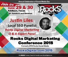 Meet Justin Liles, SVP of Local Search at Advice Interactive. He will be the featured Local SEO Expert on the Rocks Digital Marketing Q & A Expert Panel in June of 2015.