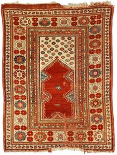 Melas Prayer Rug, Southwest Anatolia, mid-19th century, 5 ft. x 3 ft. 9 in.