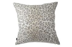 USA製cotton100%高級ヴィンテージ生地を使用したSafariベージュクッション #クッション #クッションカバー #アニマル #safari #ヒョウ柄 #cushion #cushioncover #pillow