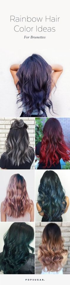 We've rounded up some of our favorite color trends that are ideal for dark-toned hair and provided plenty of inspiration.