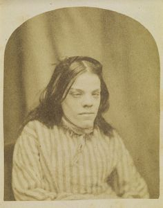 Portrait of a patient from Surrey County Asylum