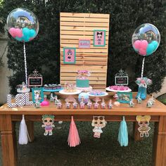 [New] The 10 Best Home Decor Today (with Pictures) 2nd Birthday Party Themes, Birthday Table, Birthday Decorations, Doll Party, Bday Girl, Lol Dolls, Instagram, Twitter, Birthday Party Ideas