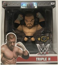This just in at The Angry Spider Vintage Toy Store: TAS038746 - 2016 ...  Check it out here! http://theangryspider.com/products/tas038746-2016-jada-toys-die-cast-wwe-wrestling-triple-h-m209?utm_campaign=social_autopilot&utm_source=pin&utm_medium=pin