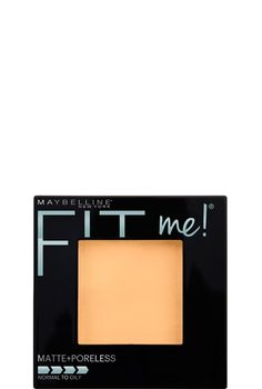 Fit Me! Matte & Poreless Powder, Mattifying Face Powder by Maybelline. Long-lasting shine control up to 12 hours, matches natural skin tone for a poreless looking finish.