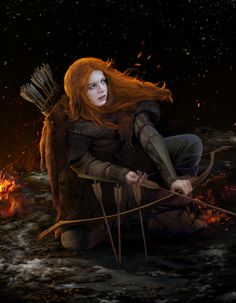 Ygritte: Beautiful Concept Artwork by steamey | Game of Thrones Fan Art