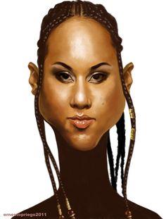 Ernesto Priego: Alicia Keys