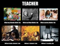 Something one of my teacher friends sent me. After this year we will see what you all think about teaching! Teaching Humor, Teaching Quotes, Student Teaching, Teaching Ideas, Teaching Profession, Teaching Time, Teaching French, Creative Teaching, Teaching English
